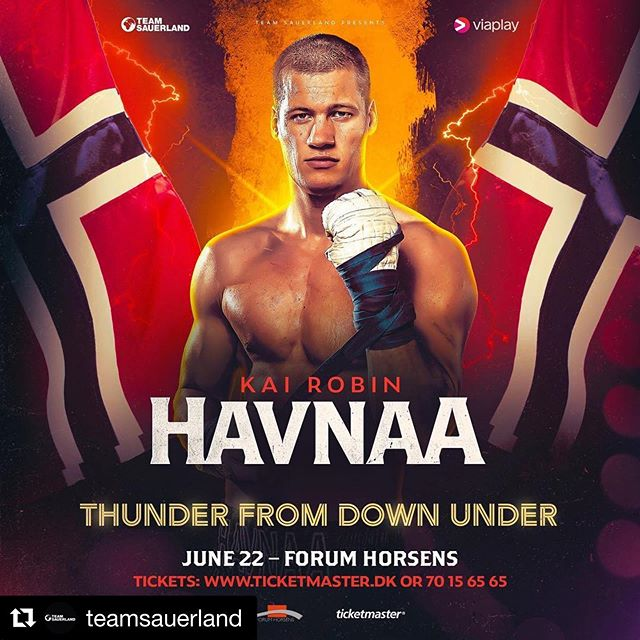 ? FIGHT ANNOUNCEMENT ? ⠀⠀⠀⠀⠀⠀⠀⠀⠀ IBO International Cruiserweight Champion King Kai @havnaa is back in action on June 22nd as part of a huge night of Championship boxing in Horsens, Denmark ? – – Team/sponsor: @aktivgronlandbjorvika  @paulsenogsonn_bademiljo  @aktiv_trening_arendal  @eirshelsehus