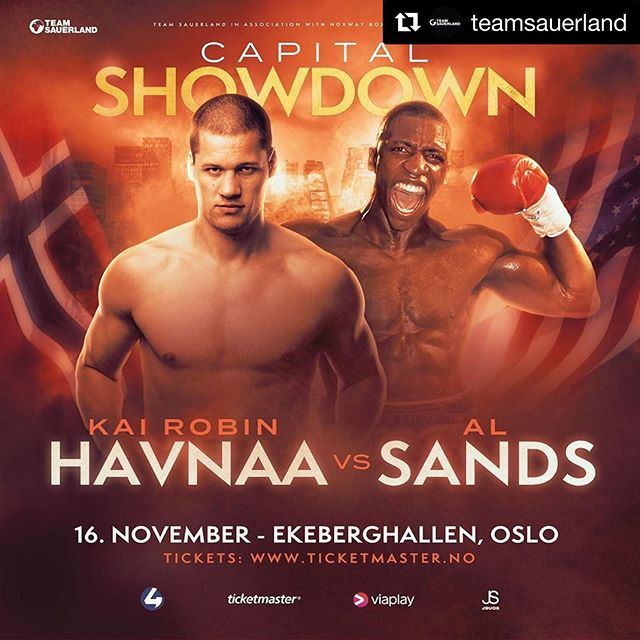 🚨 FIGHT ANNOUNCEMENT 🚨 ⠀⠀⠀⠀⠀⠀⠀⠀⠀ 'King' Kai Robin @havnaa (15-0, 13 KOs) will face hard-hitting American dangerman Al Sands (20-4-1, 14 KOs) on November 16th in Oslo 🇳🇴 Full story 👉 Link in bio 📰 ⠀⠀⠀⠀⠀⠀⠀⠀⠀ 🏟 Ekeberghallen 🌍 Oslo, Norway 🗓 16th November ⠀⠀⠀⠀⠀⠀⠀⠀⠀ ⚫️ #TeamSauerland ⚫️